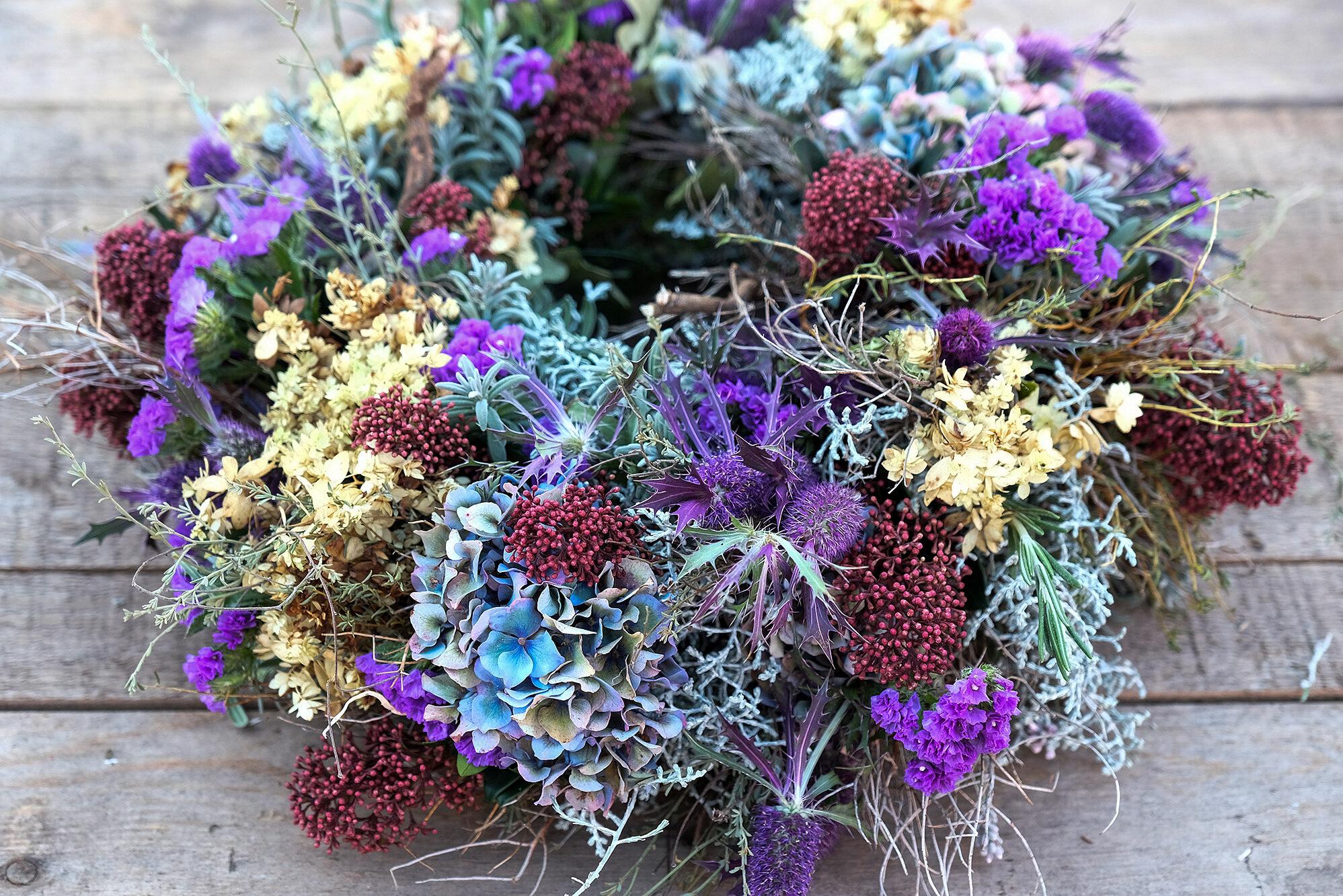 Sommerblumen aus eigenem Anbau.